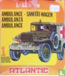 Landrover ambulance