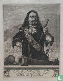 De Heer Michiel Adriaensz. Ruyter, Ridder, St. Admiraal over de Provintie van Hollandt ende Westvrieslandt.