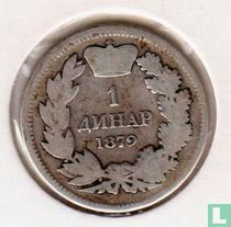 Servië 1 dinar 1879