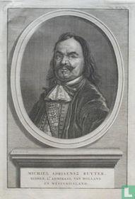 MICHIEL ADRIAENSZ RUYTER, RIDDER, LT. ADMIRAAL VAN HOLLAND EN WESTVRIESLAND.