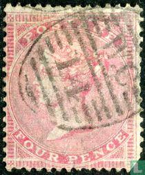 Koningin Victoria vier kruisjes