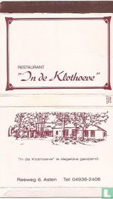 Restaurant In de Klothoeve