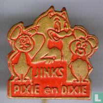 Jinks Pixie en Dixie [rood]