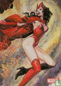Scarlet Witch by Milo Manara foil insert MM9