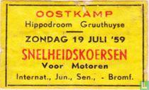 Snelheidskoersen voor Motoren - Oostkamp