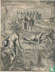 Tiberinus en Aeneas