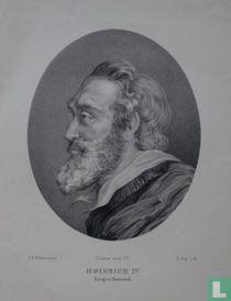 HEINRICH IV Köning von Frankreich.