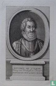 HENDRIK DE VIERDE Koning van Vrankryk en Navarre GESTORVEN DEN 14 MEY MDCX.