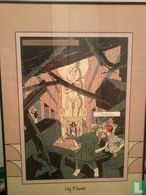 Blake en Mortimer in de kamer van Horus