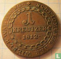 Austria 1 kreuzer 1812 (S)