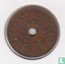 Zuid-Rhodesië ½ penny 1942