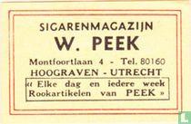 Sigarenmagazijn W. Peek