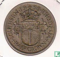 Zuid-Rhodesië ½ crown 1950