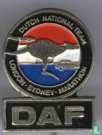 Daf Dutch national team London-Sydney Marathon