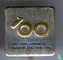 100 Jahre automobil Daimler benz 1886-1986