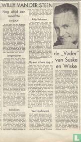 """Willy Vandersteen - De """"Vader"""" van Suske en Wiske"""