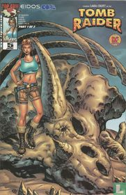 Tomb Raider 5 - Dynamic Forces Alternate Cover