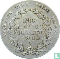 Pruisen 1 thaler 1812