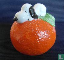 Snoopy on Orange (Fruit Series)
