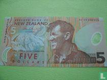 Nieuw-Zeeland 5 Dollars 2009