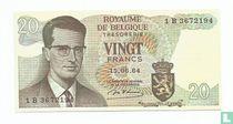 Belgie 5 Francs (Senator sigaren)