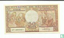 Belgie 50 Francs (Senator sigaren)
