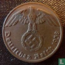 Duitse Rijk 1 reichspfennig 1938 (B)