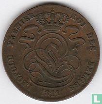 België 5 centimes 1841/11 (misslag)