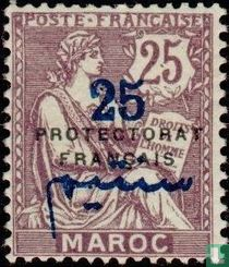 MOUCHON type, with print