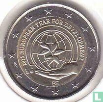 """Belgium 2 euro 2015 """"European year for development"""""""