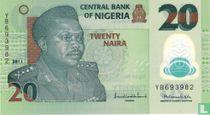 Nigeria 20 Naira 2011