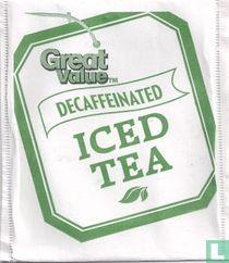Decaffeinated Iced Tea