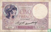 France 5 Francs