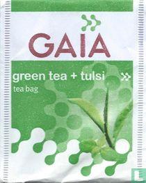green tea + tulsi