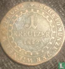 Austria 1 kreutzer 1812 (O)