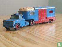 Dodge Tractor with articulated horse van