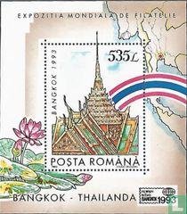 Postzegeltentoonstelling Bangkok '93