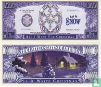 Let it Snow - its a white christmas biljet 2010