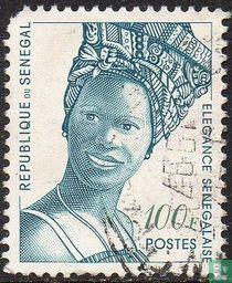Elegantie Senegalezen.