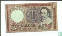 Nederland 10 Gulden (Senator sigaren)