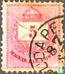 Letter, Crown and Post Horn
