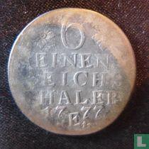 Pruisen 1/6 thaler 1777