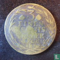Pruisen 1/3 thaler 1768 (B)