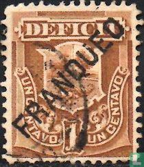 Portzegel met opdruk
