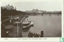 Thames Embankment from Westminster Bridge, London