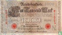 Reichsbanknote 1000 Mark 1910