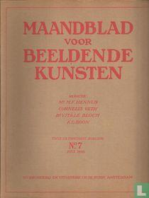 Maandblad voor Beeldende Kunsten 7 Twee en Twintigste jaargang