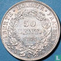 France 50 centimes 1871 (K)