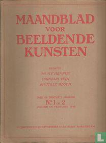 Maandblad voor Beeldende Kunsten 1 Twee en Twintigste jaargang