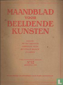 Maandblad voor Beeldende Kunsten 12 Twee en Twintigste jaargang